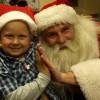 Spotkanie ze św. Mikołajem na oddziale