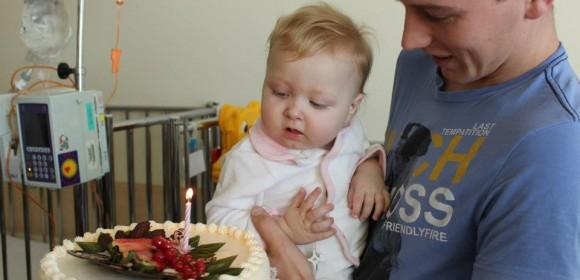 Pierwsze urodzinki Patrycji :)