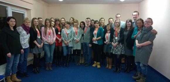 Noworoczne spotkanie z wolontariuszami